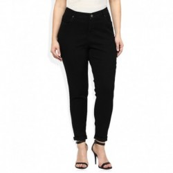 Alto Moda By Pantaloons Black Super Skinny Fit Jeggings