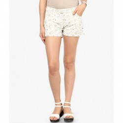 Vero Moda White Cotton Shorts
