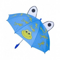 Rainfun Blue Polyester Umbrella For Kids