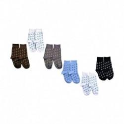 United Colors Of Benetton Multicolour Cotton Socks for Kids - Set of 6